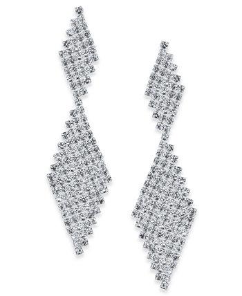 INC Crystal Mesh Серьги-капли, созданные для Macy's INC International Concepts