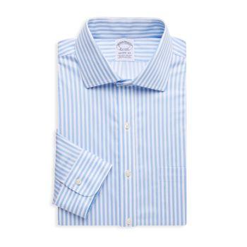 Полосатая классическая рубашка Regent-Fit Brooks Brothers