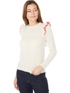 Пуловер из 100% кашемира с оборками Lilla P