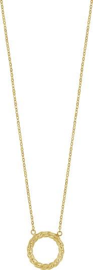 Ожерелье с подвеской в виде веревки из желтого золота 585 пробы Bony Levy