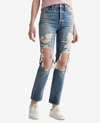 Женские джинсы Drew Mom с высокой посадкой Lucky Brand