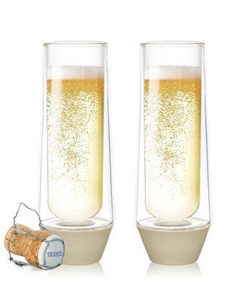 5 унций. Бокалы для шампанского Eparé