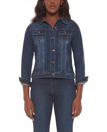 Женская джинсовая куртка больших размеров Lola Jeans