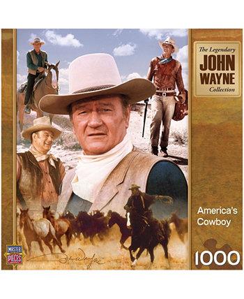 Джон Уэйн - Ковбойская головоломка Америки - 1000 шт. MasterPieces Puzzle Company