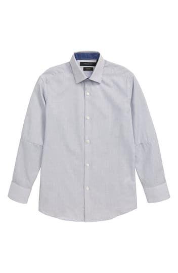 Stripe Dress Shirt (Big Boys) Andrew Marc