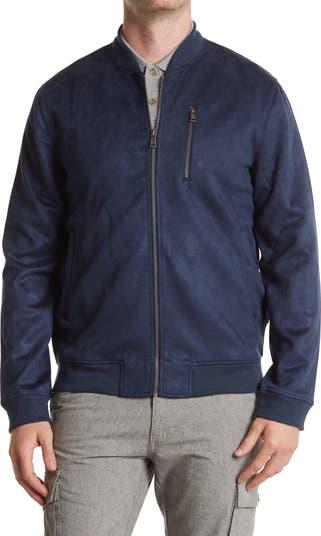 Куртка-бомбер из искусственной замши Ben Sherman