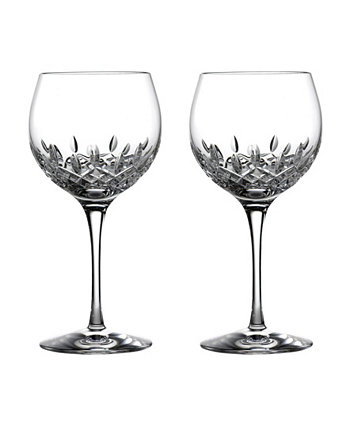 Lismore Essence Wine Balloon Glasses, Set of 2 Waterford