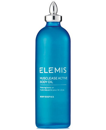 Musclease Active Body Oil, 3.4 унции Elemis