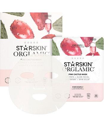 Orglamic Pink Cactus Mask Маска с розовым кактусом STARSKIN