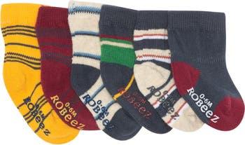 Носки для мальчиков и девочек - набор из 6 шт. Robeez