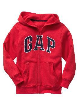 Худи на молнии с логотипом Kids Gap Gap Factory