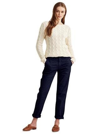 Укороченные классические брюки чинос Ralph Lauren