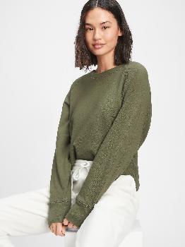 Толстовка-пуловер из французского терри Gap Factory