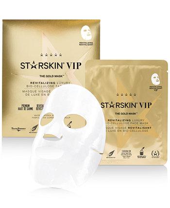 The Gold Mask Восстанавливающая роскошная маска для лица из биоцеллюлозы STARSKIN
