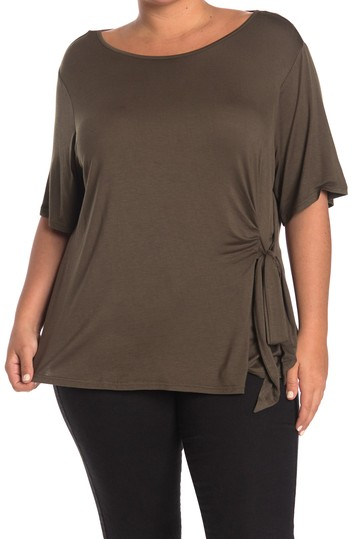 Рубашка с завязками на локтях по бокам (большие размеры) CATHERINE Catherine Malandrino