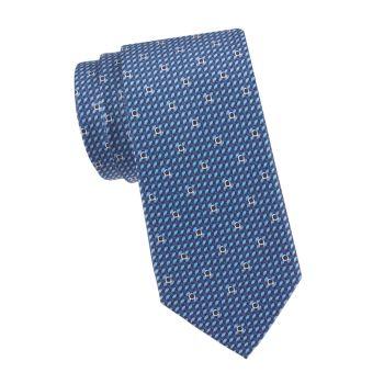 Шелковый галстук Gancini Salvatore Ferragamo