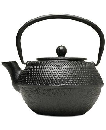 ЗАКРЫТИЕ! Чугун черный 36-унц. Заварочный чайник Primula