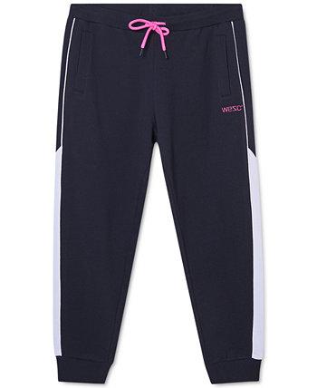Мужские брюки-джоггеры со вставками WeSC