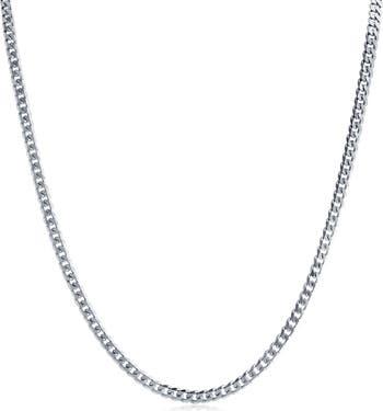 Ожерелье-цепочка из стерлингового серебра с бесконечными звеньями Bling Jewelry