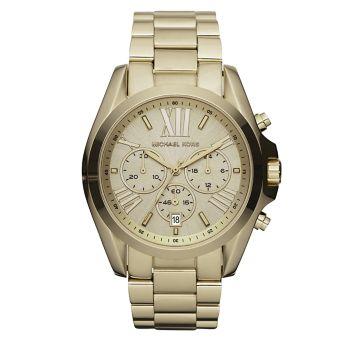 Часы Bradshaw Goldtone с хронографом из нержавеющей стали с браслетом Michael Kors