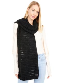 Продолговатый шарф с открытой строчкой UGG