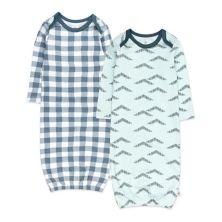 HONEST BABY CLOTHING 2 пары пижам из органического хлопка HONEST BABY CLOTHING