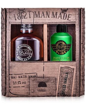 2-Рс. Подарочный набор Wash & Glide 18.21 Man Made