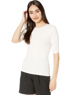 Tara Ultra Rib Тонкая футболка с круглым вырезом Michael Stars