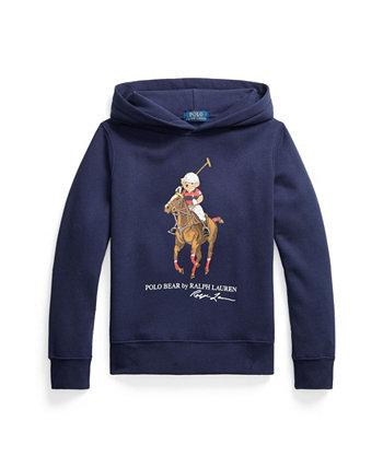 Толстовка с капюшоном из флиса Big Boys Polo Bear Ralph Lauren