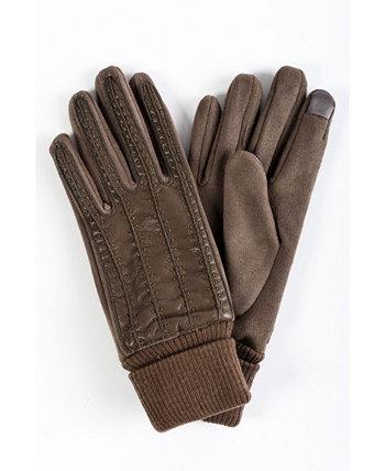 Женские перчатки из искусственной кожи для сенсорного экрана Marcus Adler