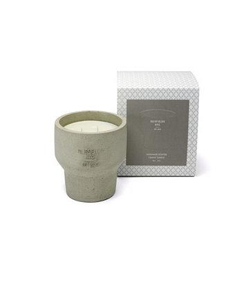 Cement Collection No. 3 Роскошная соевая свеча ручной заливки Reisfields NYC
