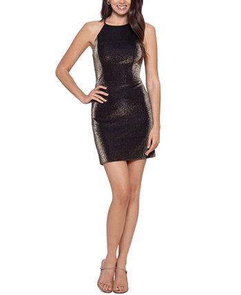 Платье на бретельках с металлическим принтом для юниоров Blondie Nites