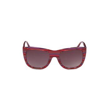 Квадратные солнцезащитные очки 55 мм M Missoni