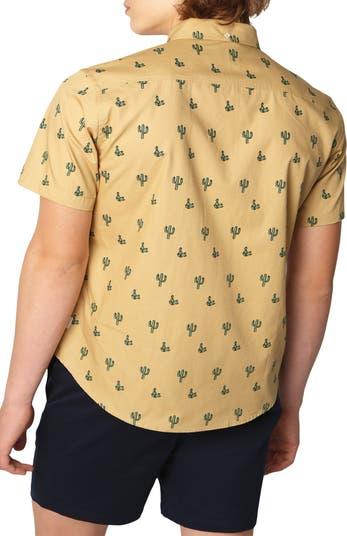 Рубашка стандартного кроя с короткими рукавами Cactus Party PUBLIC ART