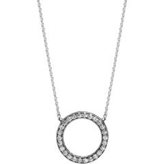 Ожерелье Сияющего Круга PANDORA
