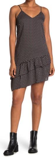 Асимметричное платье с оборками и узором в виде сердца Collective Concepts