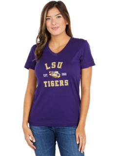 Футболка LSU Tigers University 2.0 с V-образным вырезом Champion College