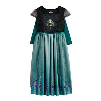 Disney's Frozen 2 Girls 4-8 Anna Is Royalty Epilogue Fantasy Nightgown Disney