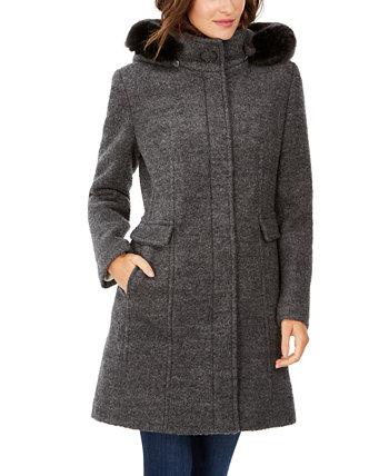 Куртка из искусственного меха с капюшоном Calvin Klein