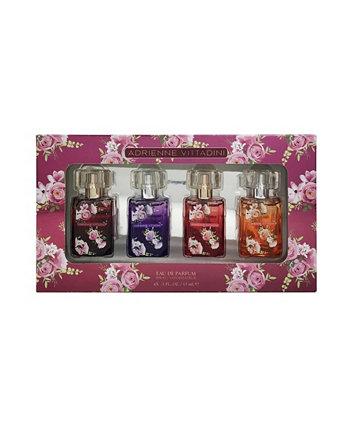 Набор из 4 штук в цветочек Eau De Parfum с цветочным рисунком Adrienne Vittadini