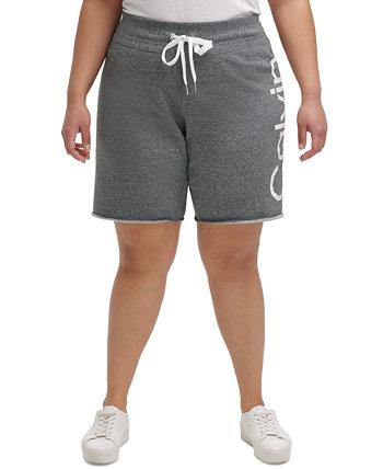 Шорты-бермуды большого размера с логотипом Calvin Klein