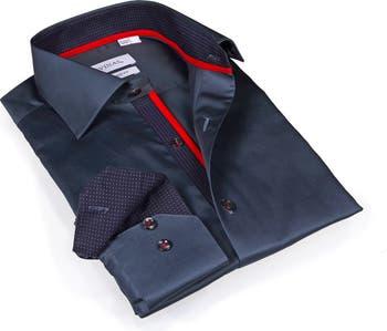 Однотонная приталенная спортивная рубашка Levinas