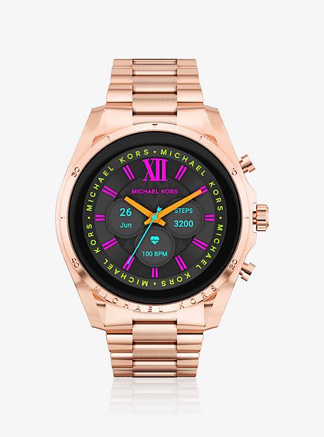 Умные часы Bradshaw цвета розового золота 6-го поколения Michael Kors
