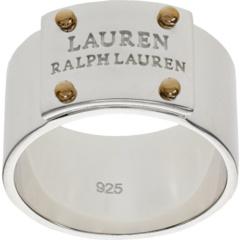 Кольцо с логотипом Ralph Lauren
