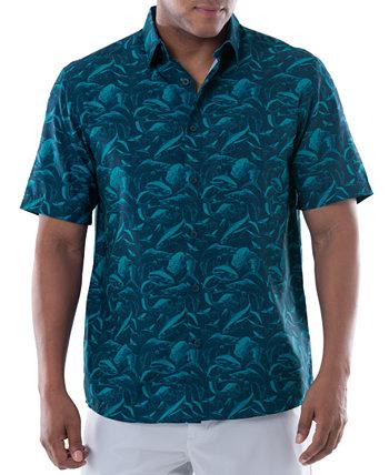 Рубашка для рыбалки с короткими рукавами и принтом Dive Harvey Guy Harvey