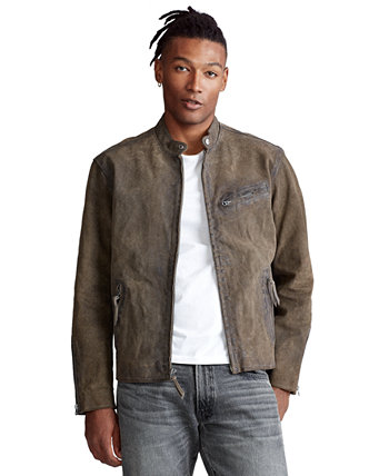 Мужская замшевая куртка Café Racer Ralph Lauren