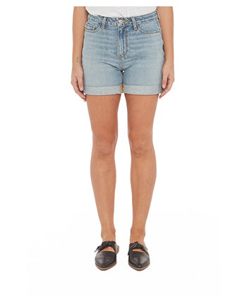 Женские джинсовые шорты с высокой посадкой Lola Jeans
