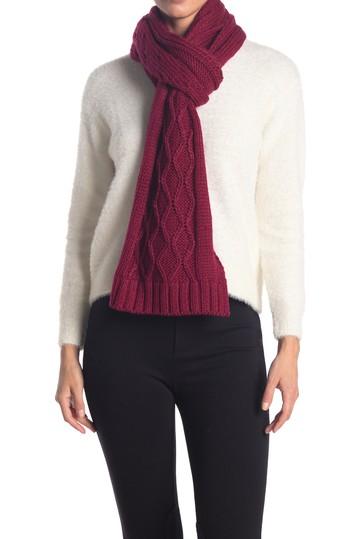 Массивный вязаный шарф с косичками Lole
