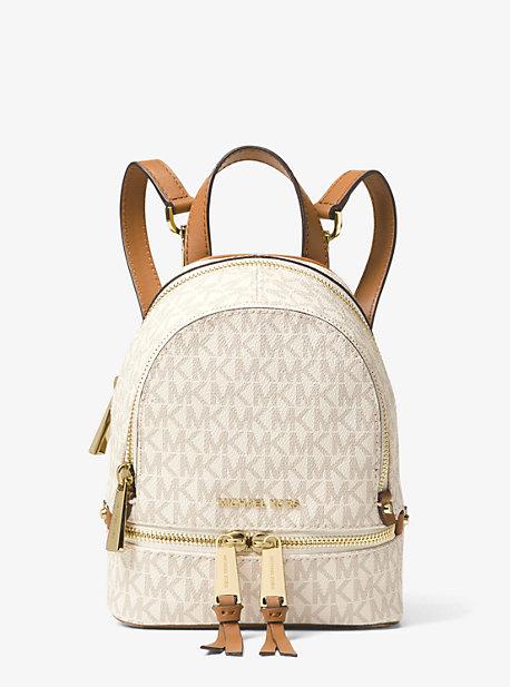 Миниатюрный рюкзак Rhea с логотипом Michael Kors