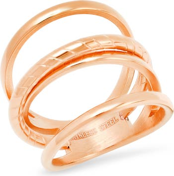 Тройное кольцо HMY Jewelry